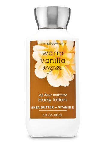 null - Signature Collection Warm Vanilla Sugar Super Smooth Body Lotion