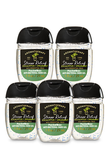 null - Eucalyptus Spearmint Pocketbac Hand Sanitizer 5-Pack