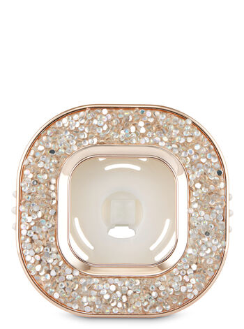 null - Sparkly Gemstone Vent Clip Car Fragrance Holder