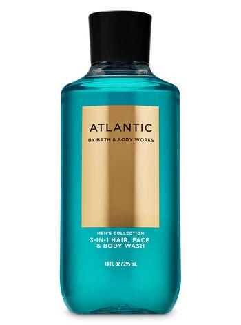 null - Atlantic 3-in-1 Hair, Face & Body Wash