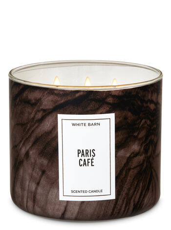 null - White Barn Paris Café 3-Wick Candle