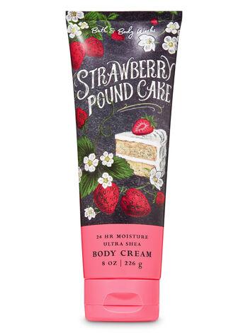 null - Strawberry Pound Cake Ultra Shea Body Cream