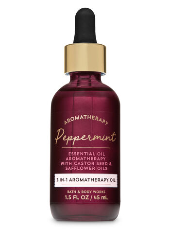 null - Aromatherapy Peppermint 3-in-1 Aromatherapy Essential Oil