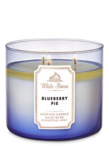 White Barn Blueberry Pie 3-Wick Candle