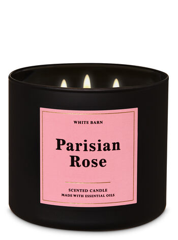 Bath and Body Works Parisian Rose 3-Wick Candle
