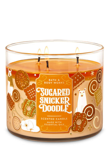 null - Sugared Snickerdoodle 3-Wick Candle