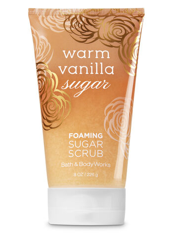 null - Signature Collection Warm Vanilla Sugar Foaming Sugar Scrub