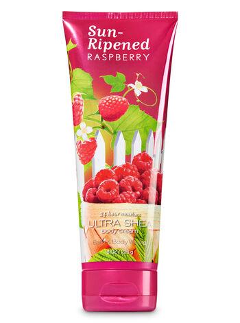 Bath and Body Works - Signature Collection Sun-Ripened Raspberry Ultra Shea Body Cream