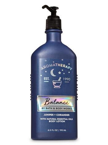 Juniper - Aromatherapy Juniper Coriander Body Lotion