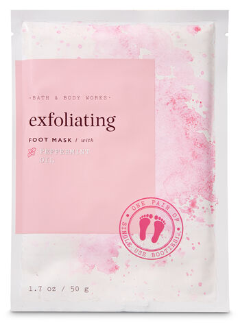 Bath and Body Works Exfoliating with Peppermint Oil Foot Mask