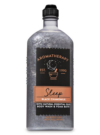 null - Aromatherapy Black Chamomile Body Wash & Foam Bath