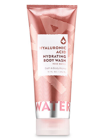 Bath and Body Works Rose Water Hyaluronic Acid Hydrating Body Wash