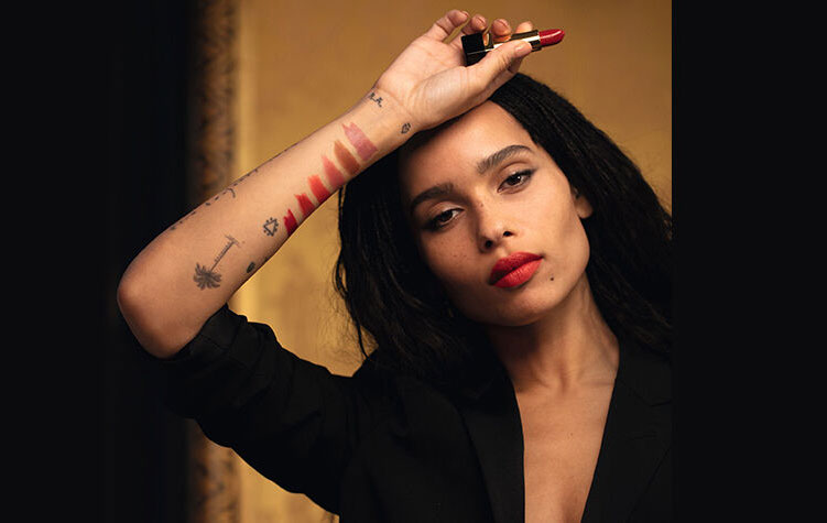 Saint Laurent Rouge Pur Couture Lipstick, Zoe Kravitz Collection