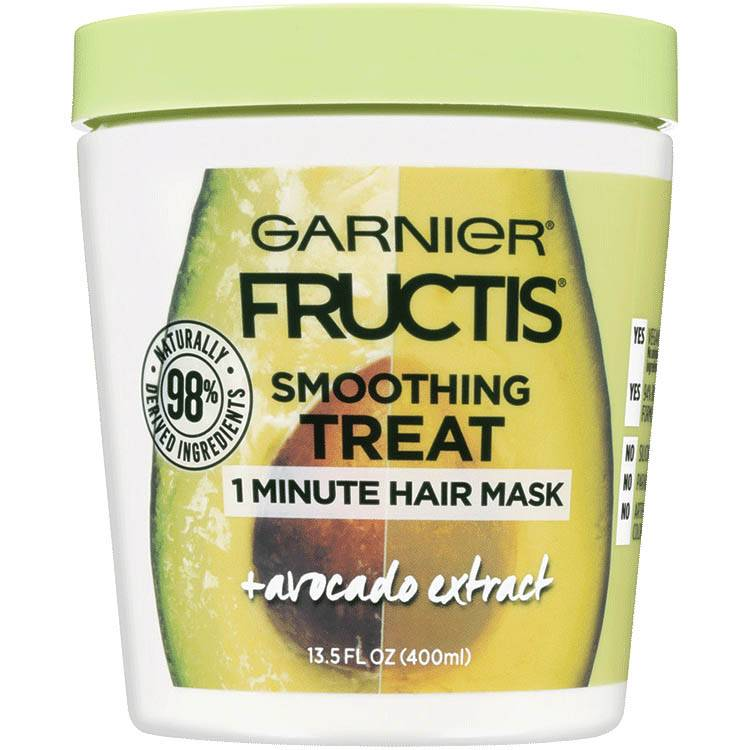 Garnier Fructis - Smoothing Treat 1 Minute Hair Mask + Avocado Extract