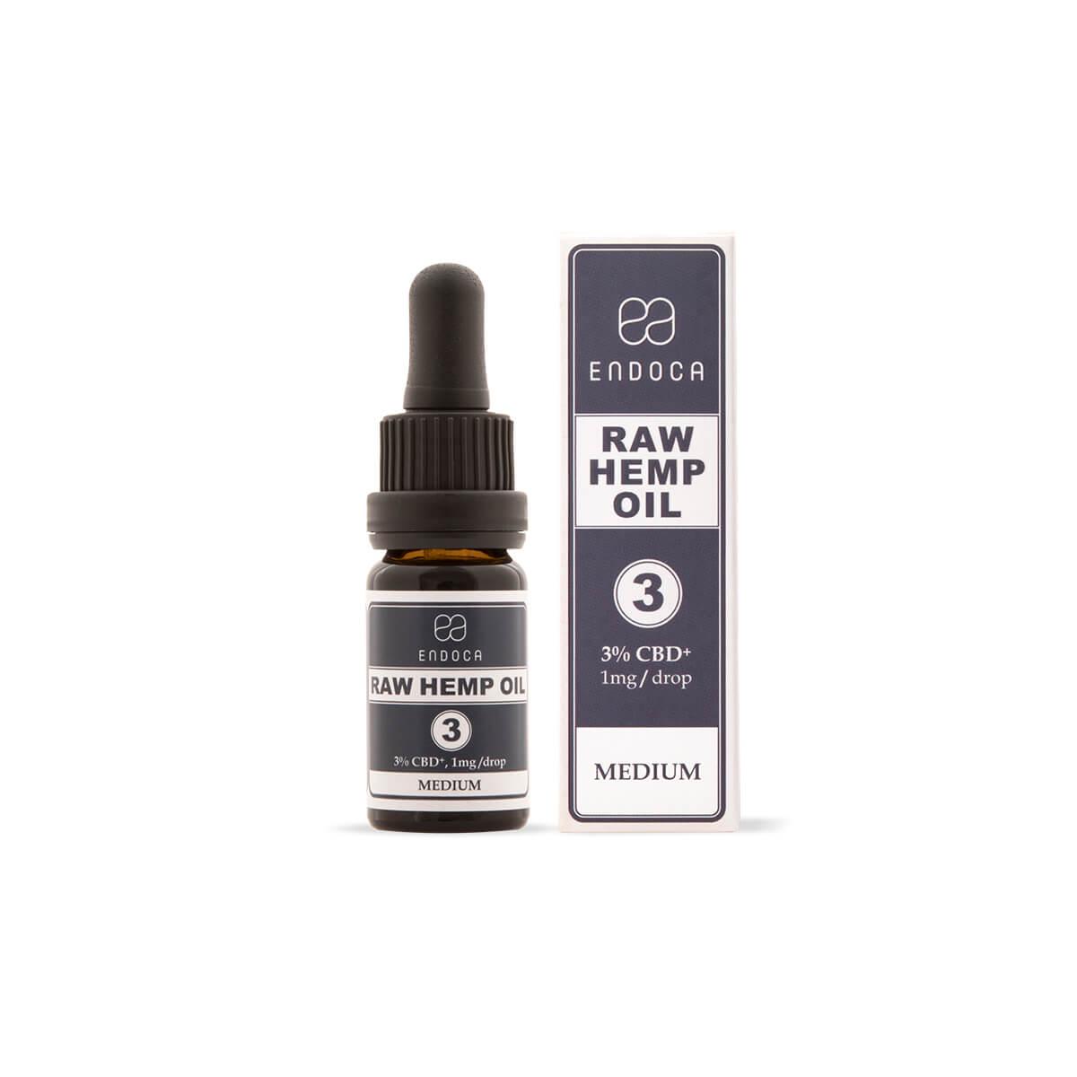 null - RAW CBD Oil – 300mg 3% CBD+CBDa