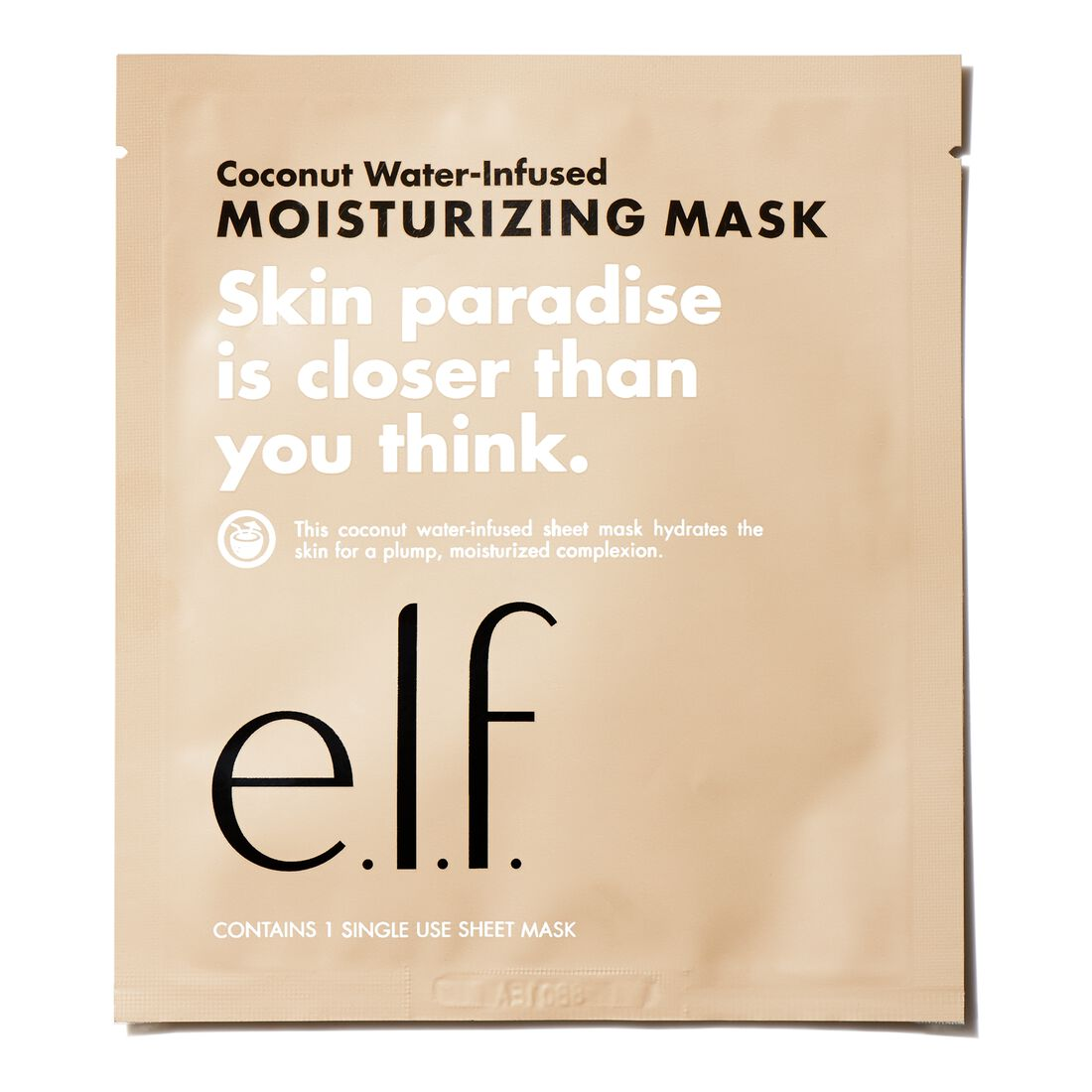 e.l.f. Cosmetics - Coconut Water-Infused Moisturizing Sheet Mask