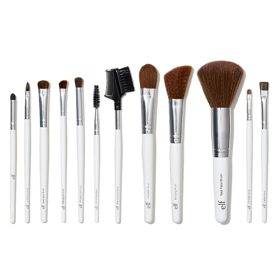 ELF Cosmetics - Professional Set of 12 Brushes