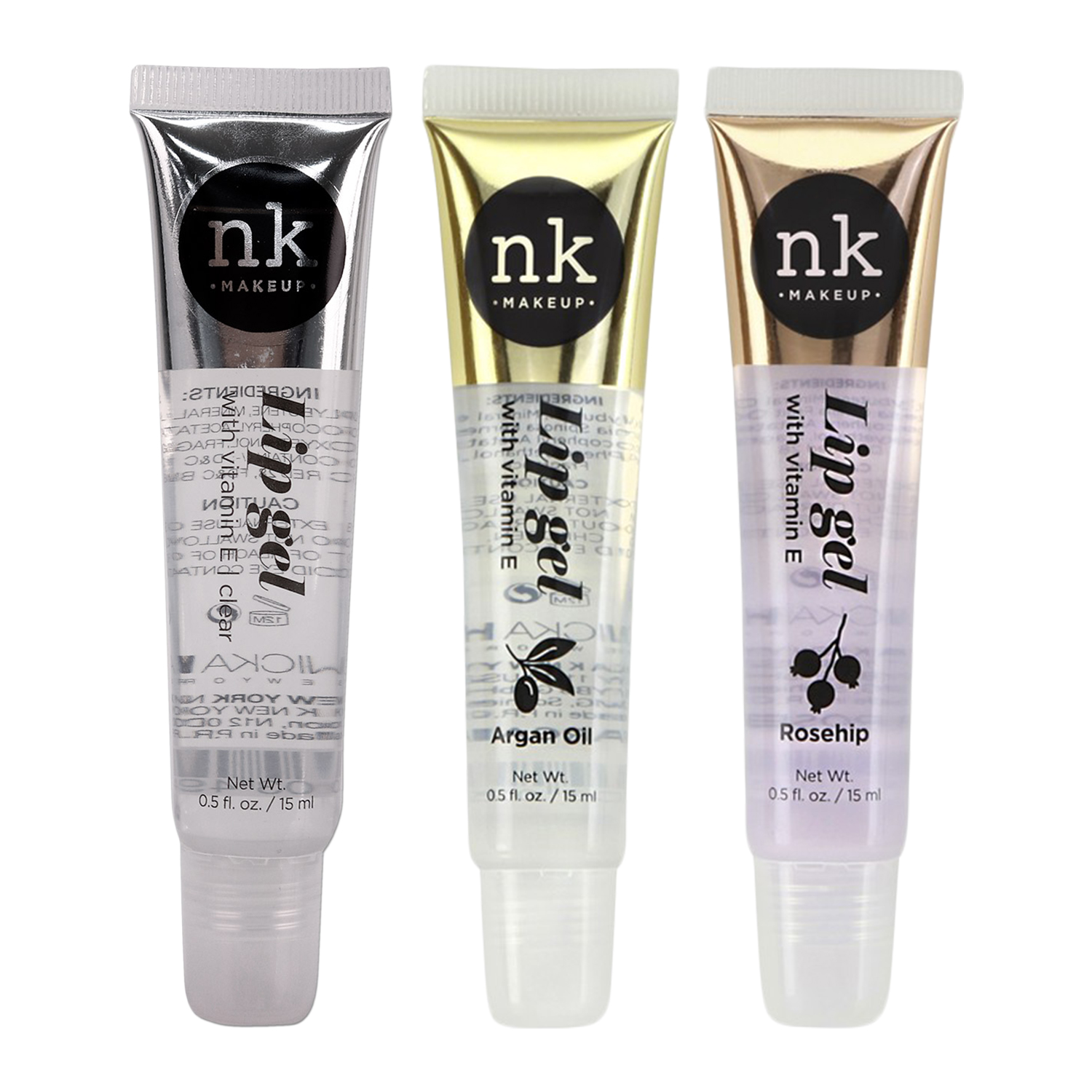 Nicka K New York - Lip Gel Clear with Vitamin E
