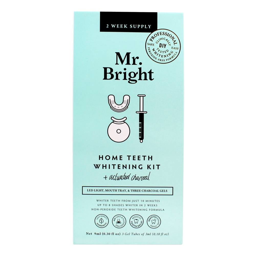 LuckyVitamin.com - Mr. Bright Home Teeth Whitening Kit + Activated Charcoal