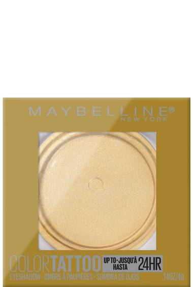 Maybelline - Color Tattoo Up To 24HR Longwear Cream Eyeshadow Makeup Golden Girl