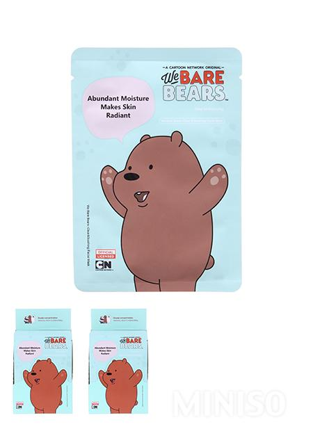 null - We Bare Bears Clear Soothing Facial Mask