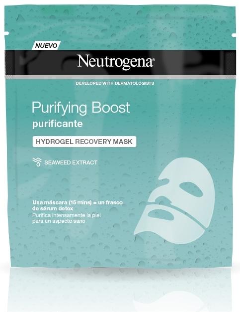 neutrogena - Máscara de Hidrogel Purificante de Neutrogena®