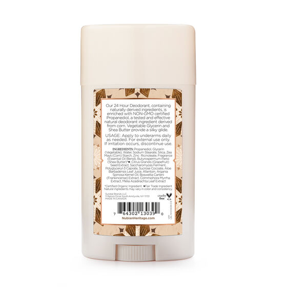 null - Raw Shea Butter 24 Hour Deodorant