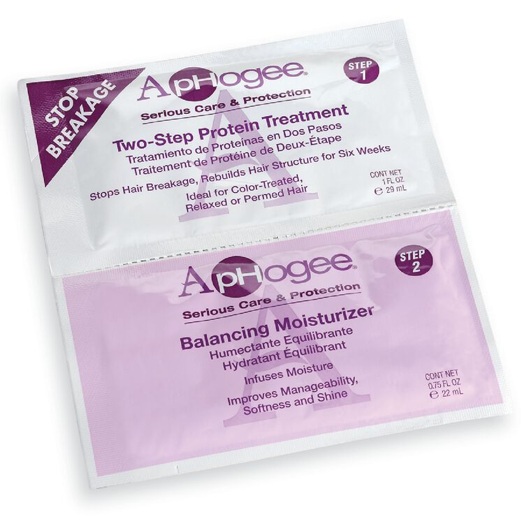 ApHogee - Two Step Protein Treatment & Balanced Moisturizer Packette