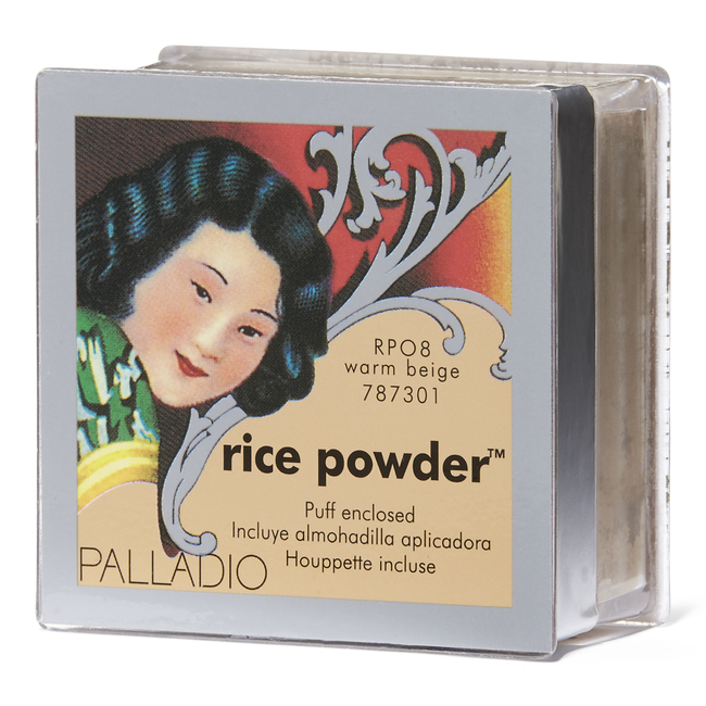 Palladio Palladio Natural Rice Loose Finishing Powder Warm Beige