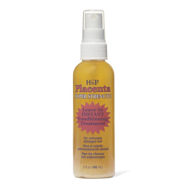 Hask - Super Strength Placenta No-Rinse Instant Hair Repair Treatment