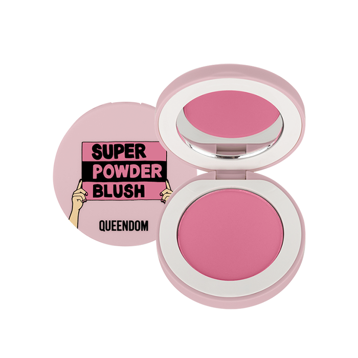 Queendom - Matte Powder Finish, Hot Magenta Shade