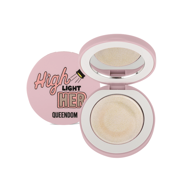 Queendom Cream Highlight, Crystal Nude