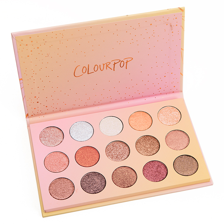 Colour Pop ColourPop Golden State of Mind Eyeshadow Palette Review, Photos, Swatches