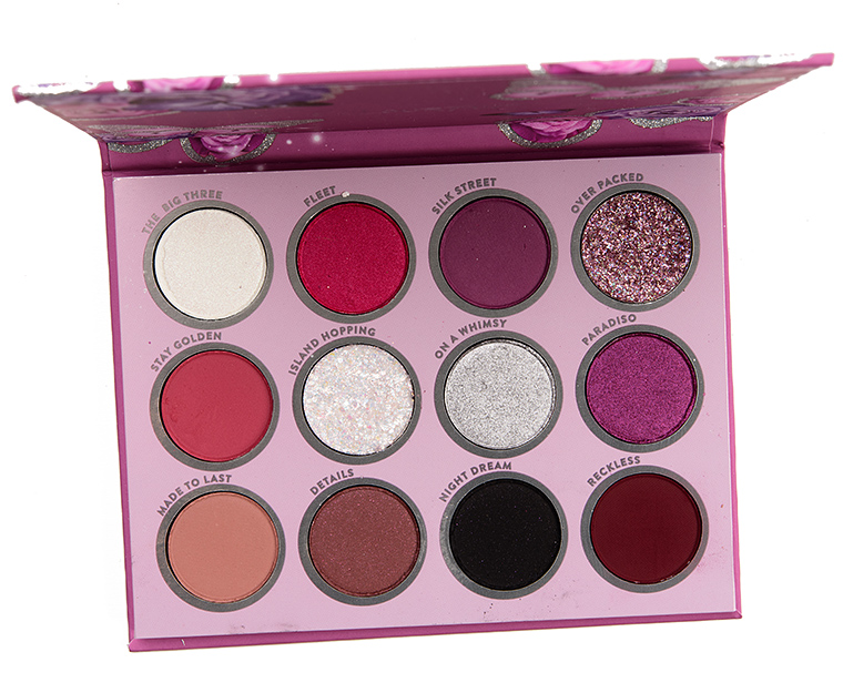 Colour Pop - ColourPop Butter Me Up Eyeshadow Palette Review & Swatches