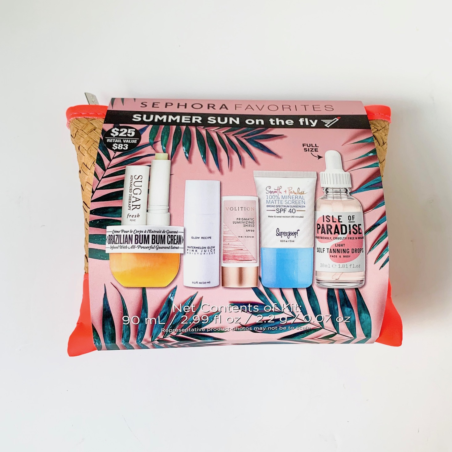 Sephora - Sephora Favorites: Summer Sun On The Fly Review – April 2019
