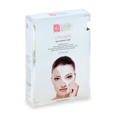Global Beauty Care - Global Beauty Care™ 5-Count Collagen Spa Treatment Mask
