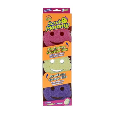 Scrub Daddy - Scrub Daddy® 3-Count Scrub Mommy® Sponges