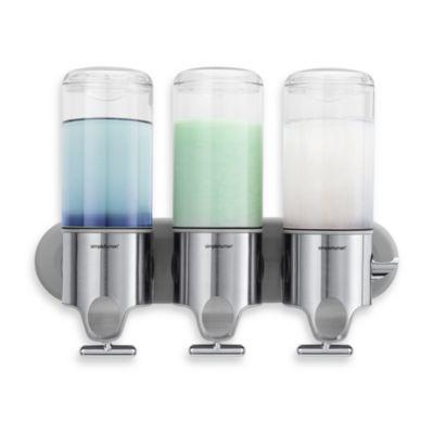 simplehuman - simplehuman® Triple Wall Mount Pumps