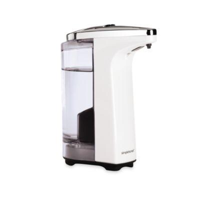 simplehuman - simplehuman® Compact Sensor Pump Soap Dispenser in White