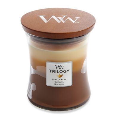 WoodWick - WoodWick® Trilogy Café Sweets 10 oz. Jar Candle