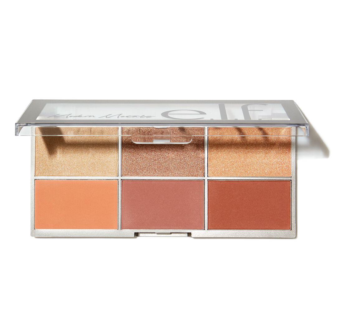 ELF Cosmetics - Modern Metals Blush and Highlighter Palette