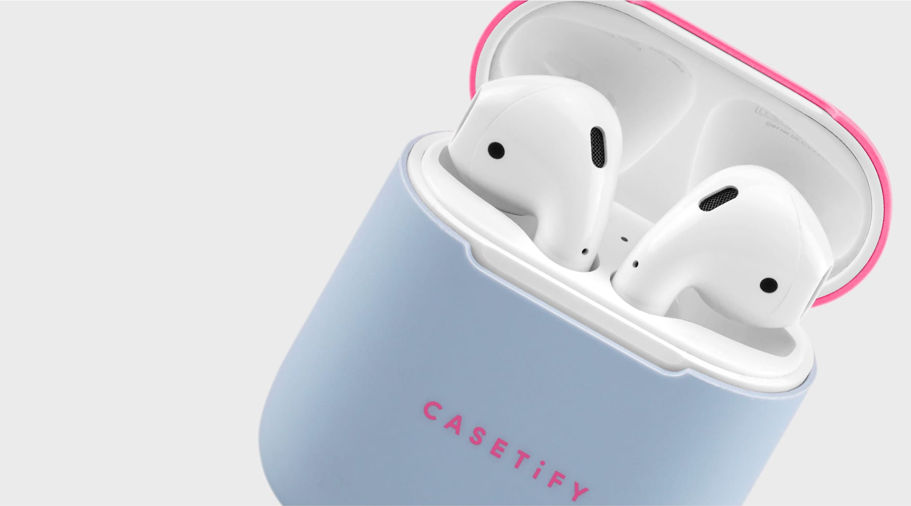 null - Neon AirPods Case Skin (2 sets) - VIP (Purple / Pink)