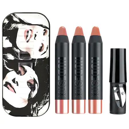 NudeStix - The Nude Gloss Balm Lip + Cheek Kit