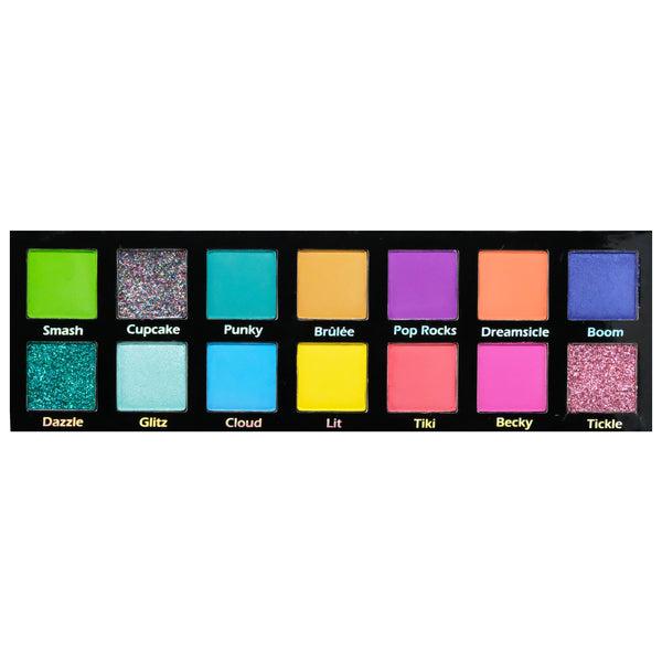 Pinky Rose Cosmetics - Bright Lights Eye Shadow Palette