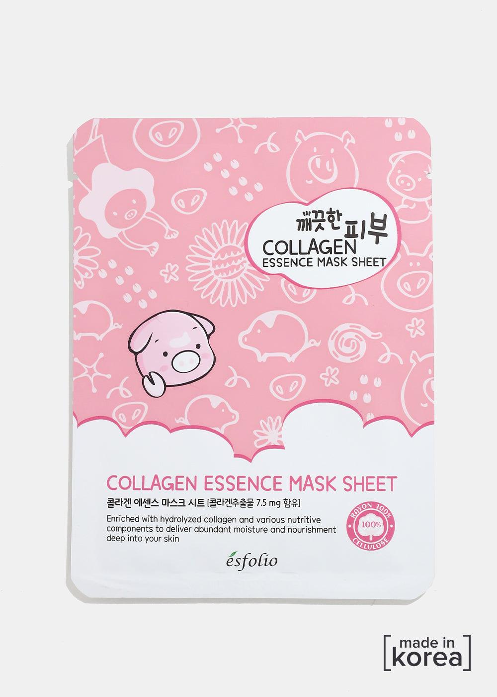 ESFOLIO - ESFOLIO Pure Skin Essence Mask- Collagen