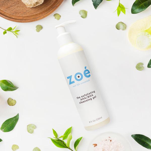 Zoe - Exfoliating AHA/BHA Cleansing Gel