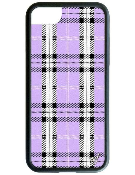 null - Lavender Plaid iPhone 6/7/8 Case