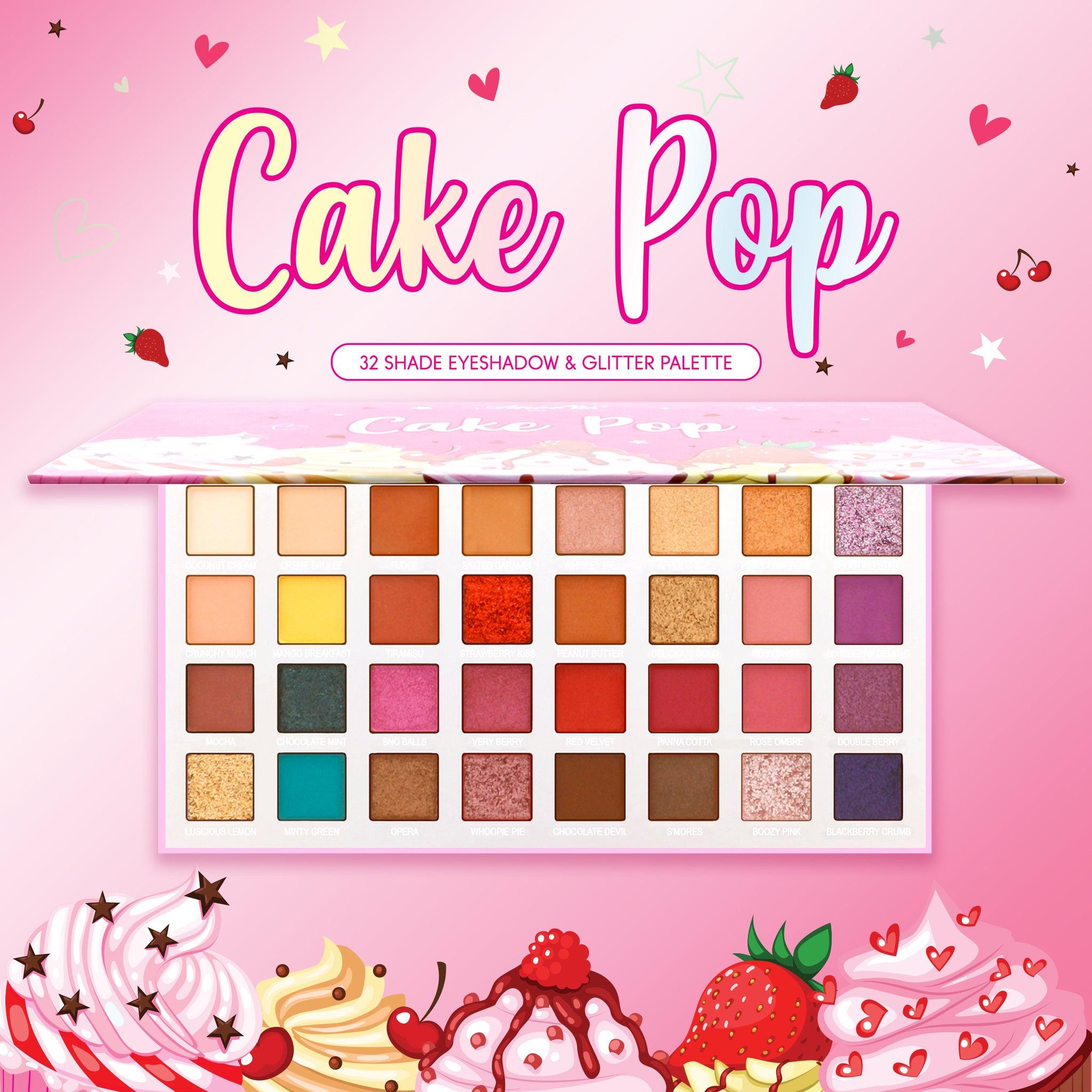 null - Cake Pop - Eyeshadow & Glitter Palette