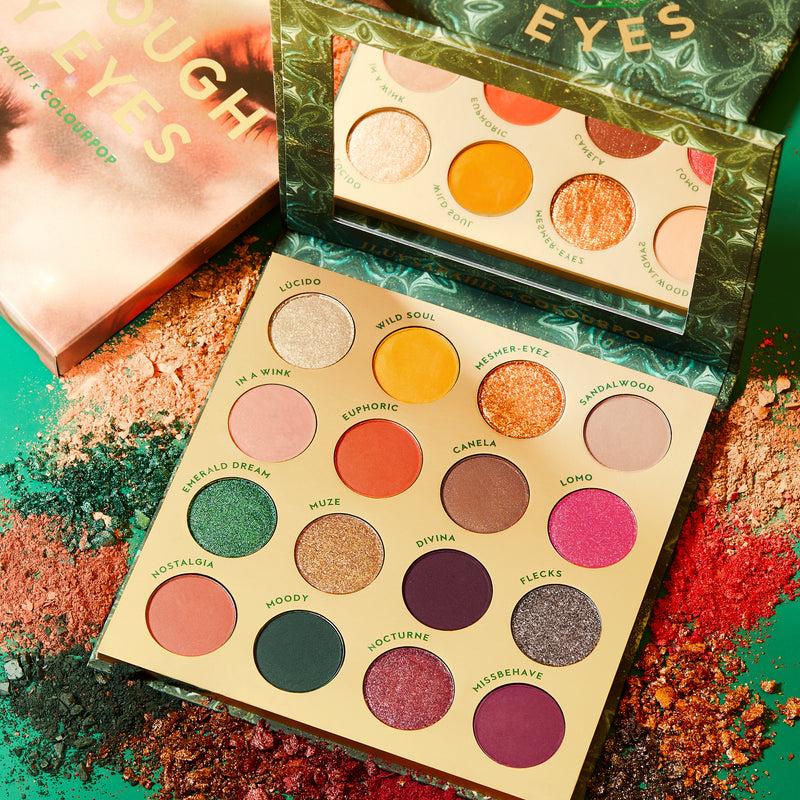 Select Brand - Through My Eyes Green & Warm Neutral Eyeshadow Palette | ColourPop