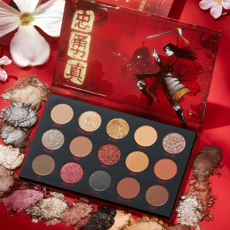 Select Brand - Disney Mulan Eyeshadow Palette   ColourPop